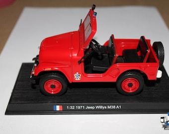 JEEP - WILLYS M38 A1 Fire Engine - Vigili del Fuoco 1971 1/32
