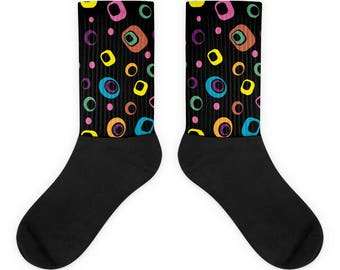 Licorice Candy style Socks