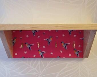 Wooden key rack/shelf/holder