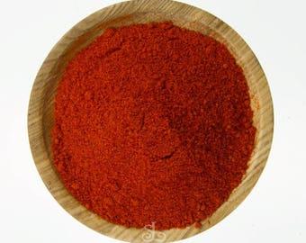 Best Spice: Kashmiri Chili, Natural Food, Organig, Vegan and Vegetarian. (50 gr)