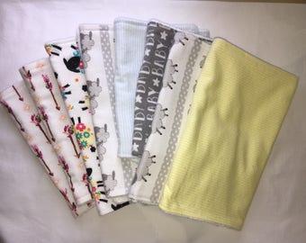 Burp Cloth Sets, Homemade