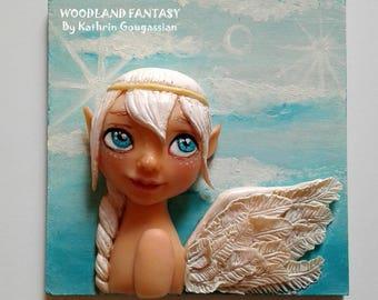 3D Wall Art - Angel girl