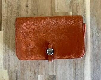 Vintage HERMES women's Dogon wallet
