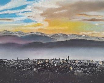 Sunset on Turin