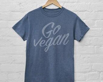 Go Vegan T Shirt