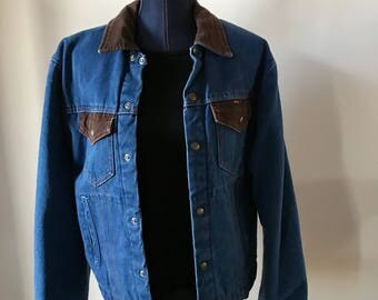 1980's Key Denim Work Jacket