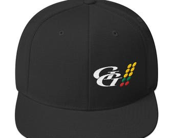Gas Gear Logo Snapback Embroidered Hat