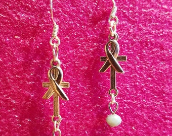 Pray for Cancer Earrings