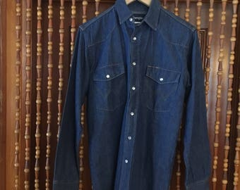 Men's wrangler western button up