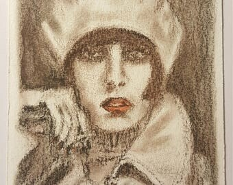 "Original drawing ""Le Femme"""