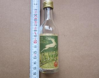 "small 0.05 ml Vodka bottle ""  Lasite "" from USSR Soviet Russia - Latvia 1960/70s"