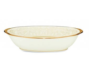 Noritake White Palace Oval Vegetable Bowl
