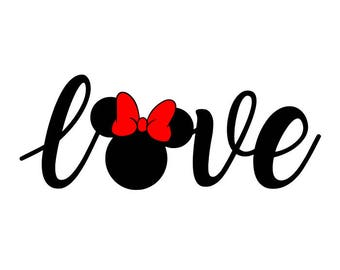 Download Minnie mouse svg | Etsy