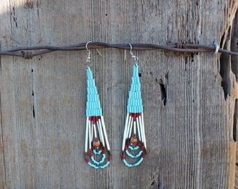 Porcupine Quill Drop Earrings