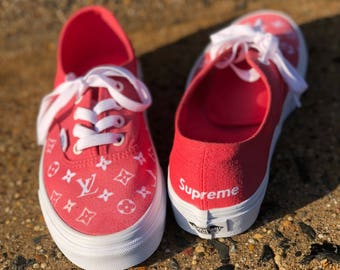 Custom Vans Lv Supreme