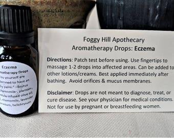 Eczema Aromatherapy Drops for eczema & psoriasis skin areas