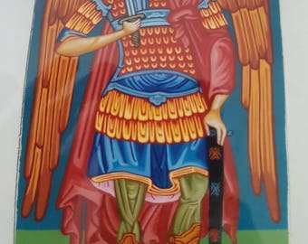 Archangel Michael. Original mural