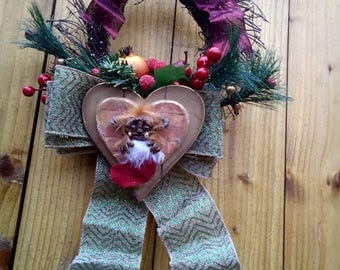 Ludo Christmas Wreath