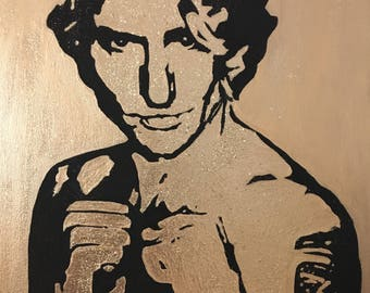 Justin Trudeau pop art