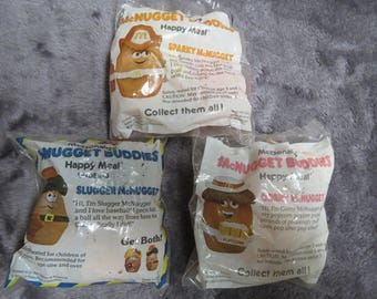 McDonalds Happy Meal Toys  MCNUGGET BUDDIES