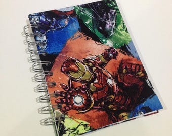 Avengers A6 Fabric Hardcovered Notebook