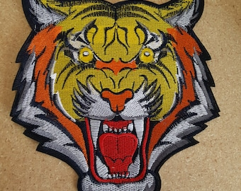 Tiger iron on high quality  sequins / embroidered