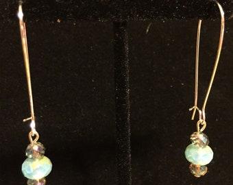 Shimmery Iridescent Dangles