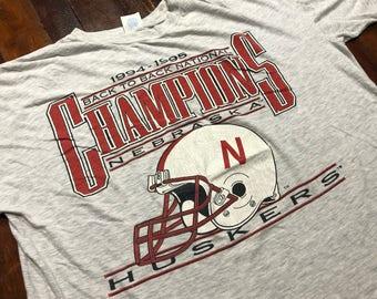 Vintage 1994 Nebraska Huskers T-Shirt size XL