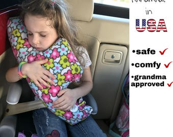 Seatbelt pillow, Car pillow, pillow, Traveling pillow, Car pillow for kids, Seatbelt cover