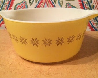 PYREX Town & Country (1963-1967) Casserole Dish #474