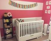 Newborn Rag Garland Banner