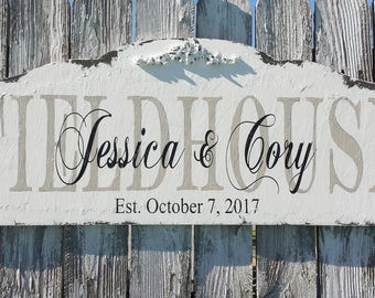 Last Name Sign | Established Sign | Mr and Mrs Sign | Custom Name Sign | Family Name Sign | Personalized Name Sign | Wedding Gift | Wooden