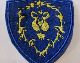 Alliance World of Warcraft embroidered patch