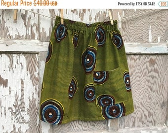 MEMORIAL DAY SALE- Flea Market Skirt- Eco Friendly Reclaimed Fabrics-Womens-Xs-Hand Dyed Boho Style
