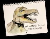 2018 Calendar Featuring Art by Marcia Furman