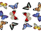 Butterfly Water-Slide Decals, Butterfly Wedding and Party Decals, Decorate Flame-less Candles, Soap, Glass, Home Decor, Furniture