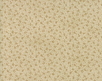 Ella and Ollie - Turkey Tracks in Cobblestone Tan : sku 20305-22 cotton quilting fabric by Fig Tree and Co. for Moda Fabrics