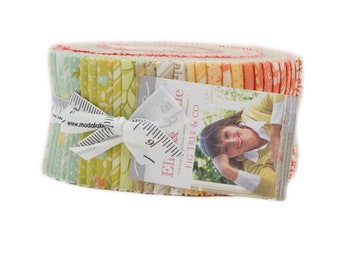 Ella and Ollie Jelly Roll by Fig Tree and Co. for Moda Fabrics, 40 2.5 inch strips