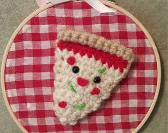 Slice, Slice Baby - Crochet Wall Art
