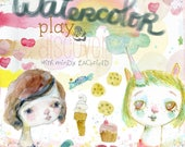 Watercolor Play and Discover - online class