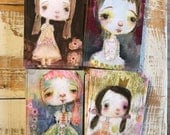 Hold Close - postcard set of 4