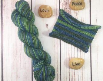 Lovely Little Things: Hand-dyed gradient sock yarn, 70/20/10 SW merino, yak, nylon