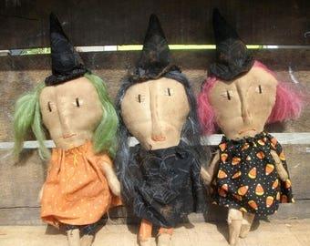 CustomerAppreciationSale Primitive Halloween Witches of Eastwick