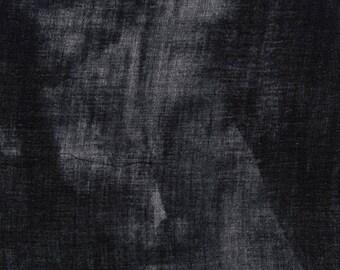 Nani Iro BEAU Yin Yang Kokka Japanese Fabric - Peinture a l'eau II - nep double gauze - 50cm