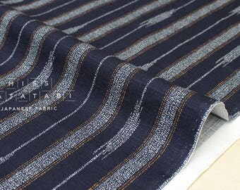 Japanese Fabric Traditional Large Arrows - indigo blue - 50cm