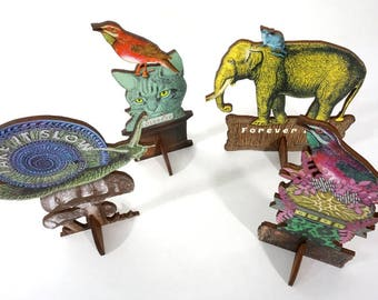 4 Pop Up Art Sculptures - Special Sale on Handmade Art Gifts