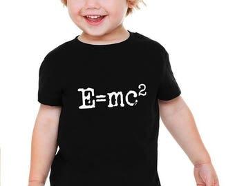 E=mc2 Einstein Baby or Toddler Gift Set T-Shirt & Optional Gift Box