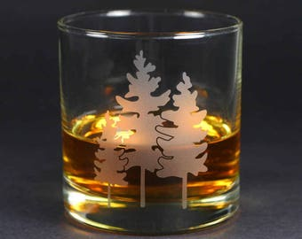 Family Tree Lowball Glass - Great Outdoors Collection