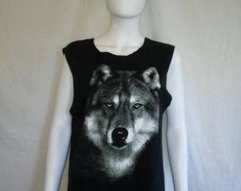 Closing Shop 40%off SALE Wolf Wolves tank top t shirt