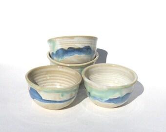 Ice Cream Bowl Set of Four - Rio Grande Glaze